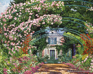 FLOWERING ARBOR GIVERNY
