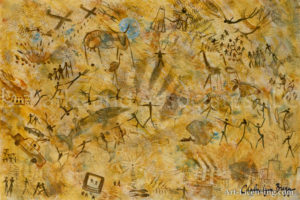 Ancient Modern Cave Painting