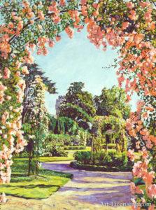 Castle Rose Garden