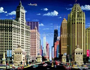 Chicago-Magnificent Mile