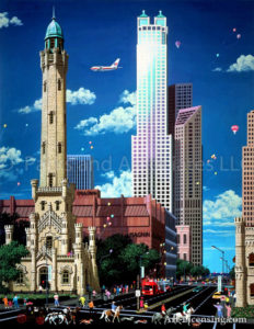 Chicago-Old Water Tower