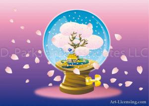 Dome Cherry Blossom