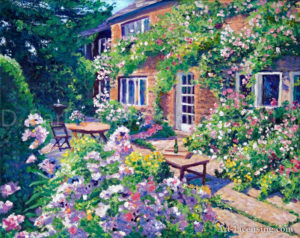 English Courtyard