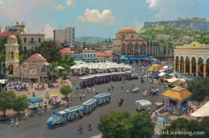 Greece-Athens Market