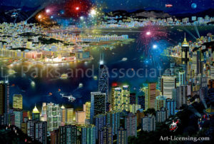 Hong Kong-Night View