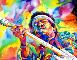 Inspired by Jimi Hendrix Electric