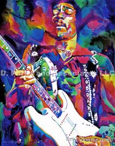 Inspired by Jimi Hendrix Purple Master
