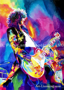 Inspired by Jimmy Page-Guitar