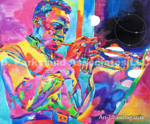Inspired by Miles Davis Bebop