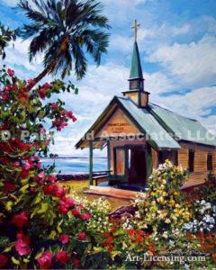 Kahaalu Church Hawaii