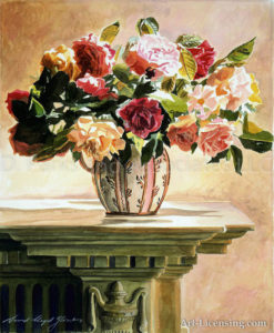 Mantlepiece Rose