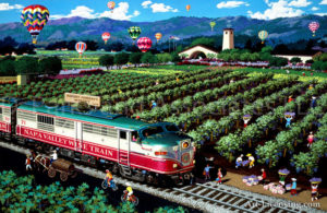 Northern California-Napa Wine Train