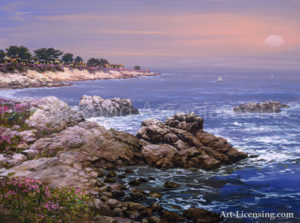 Northern California-Pacific Grove Sunset