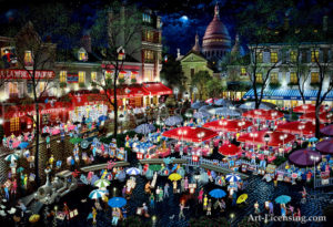 Paris-A Night At Montmartre
