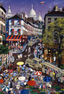 Paris-A day at Montmartre