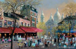Paris-Artist Square