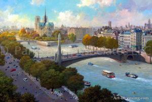Paris-Notre Dame Autumn