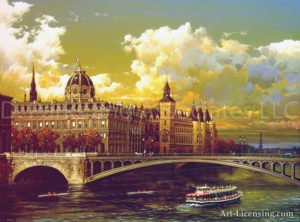 Paris-The-Seine