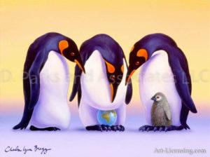 Penguins & World-egg