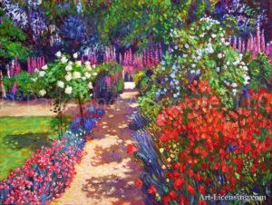 Romantic Garden Walk