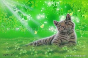 Tabby cat - Sunlight