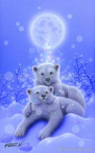 White bear - Blessing of the Moon