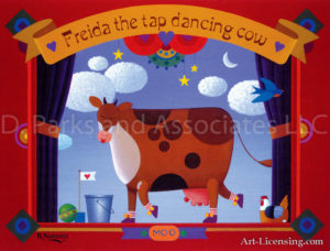 Freida the Dancing Cow