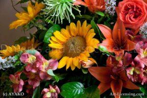 00131-Sunflowers Bouquet