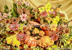 0956-Fall Flower arrangement