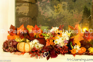 1127--Autumn Flower Arrangement