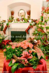 2043-Christmas Decoration Room