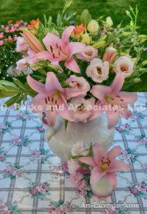2291-Lilies Bouquet