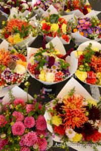 3279-Dahlia Bouquet