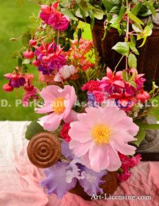 710-Pink Peony Bouquet