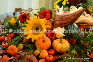 7810-Harvest Time Thanksgiving Flowers