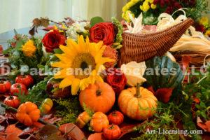 7810-Harvest Time Thanksgiving Flowers