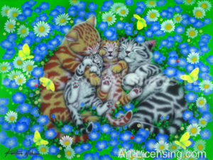 Cats-Sleeping Together