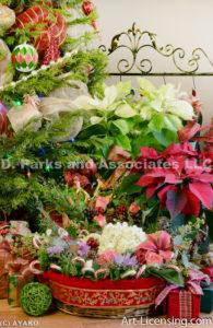 2251-Christmas Poinsettias