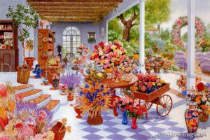 Flower Patio Garden