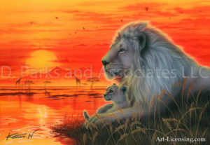 Lion - Hart Beat of Savanna