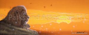 Lion - The Wind of Savanna