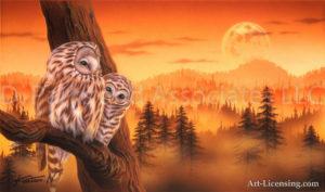 Owl - Parent and Child 2