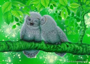 Owl - Time-Together 2-w signaturer