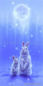 Rabbit--Snow White