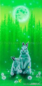 Rabbit-- Spring Wind 2