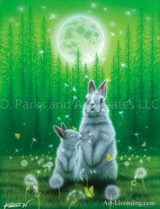 Rabbit--Spring Wind