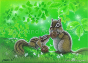 Squirrel - Delicious Food of the-Forest