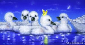 Swan--White Angels 3