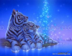 Tiger - Night Rain