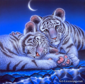 Tiger - Two Babys